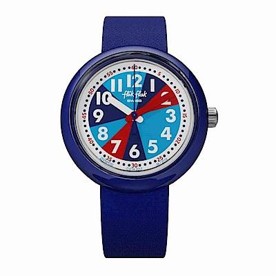 FlikFlak 兒童錶 BLUEISH 藍色冒險手錶