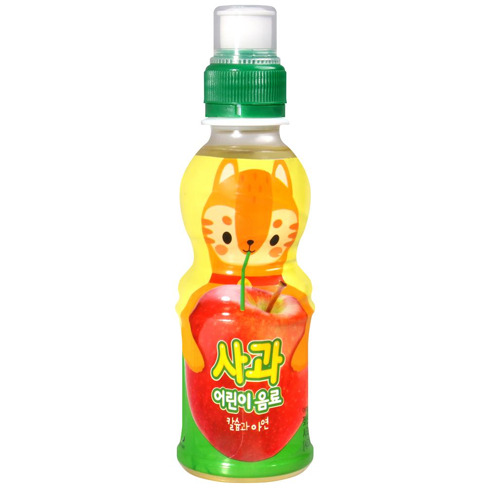 NO BRAND 可愛動物飲料-蘋果風味(200ml)