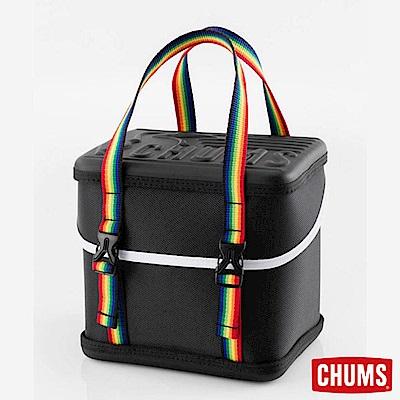 CHUMS 日本 Booby Cube 可提式方型收納盒 黑