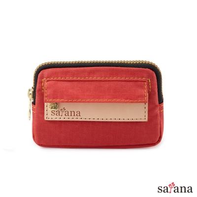 satana - Soldier 小巧零錢包/鑰匙包 - 洛可可紅