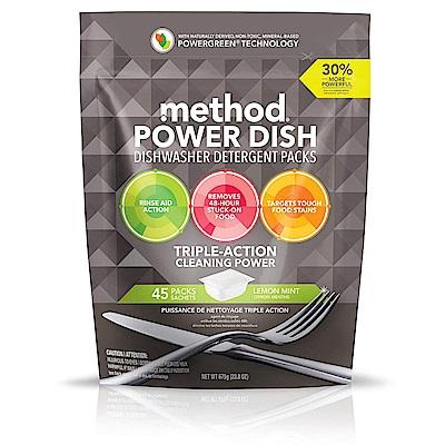 Method 美則潔淨三效聰明洗碗球-萊姆薄荷(45顆入)