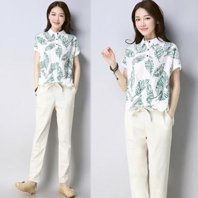 【韓國K.W.】(現貨)浪漫百變造型兩件套套裝-1色