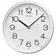 SEIKO 日本精工 銀框 標準型 辦公室掛鐘(QXA014S)31.1cm product thumbnail 1