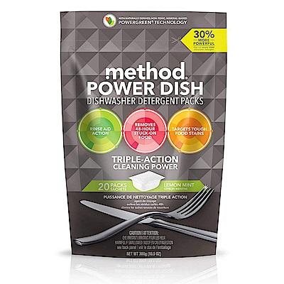 Method 美則潔淨三效聰明洗碗球-萊姆薄荷(20顆入)