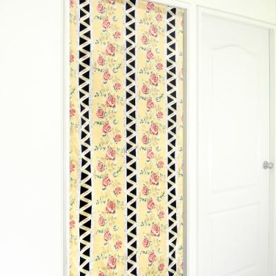 布安於室-古典玫瑰長門簾(風水簾)-多種尺寸