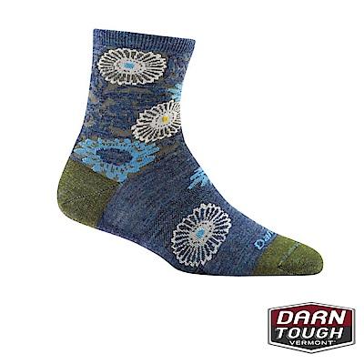 【美國DARN TOUGH】女羊毛襪FLORAL生活襪(2入隨機)
