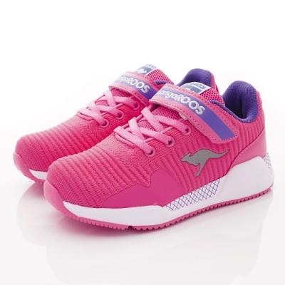 KangaROOS童鞋 EVO 90 輕量運動鞋 NI1233粉(中大童段)