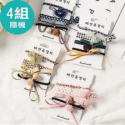 團購-4組-Hera-赫拉-韓國新款蝴蝶結飄帶流蘇