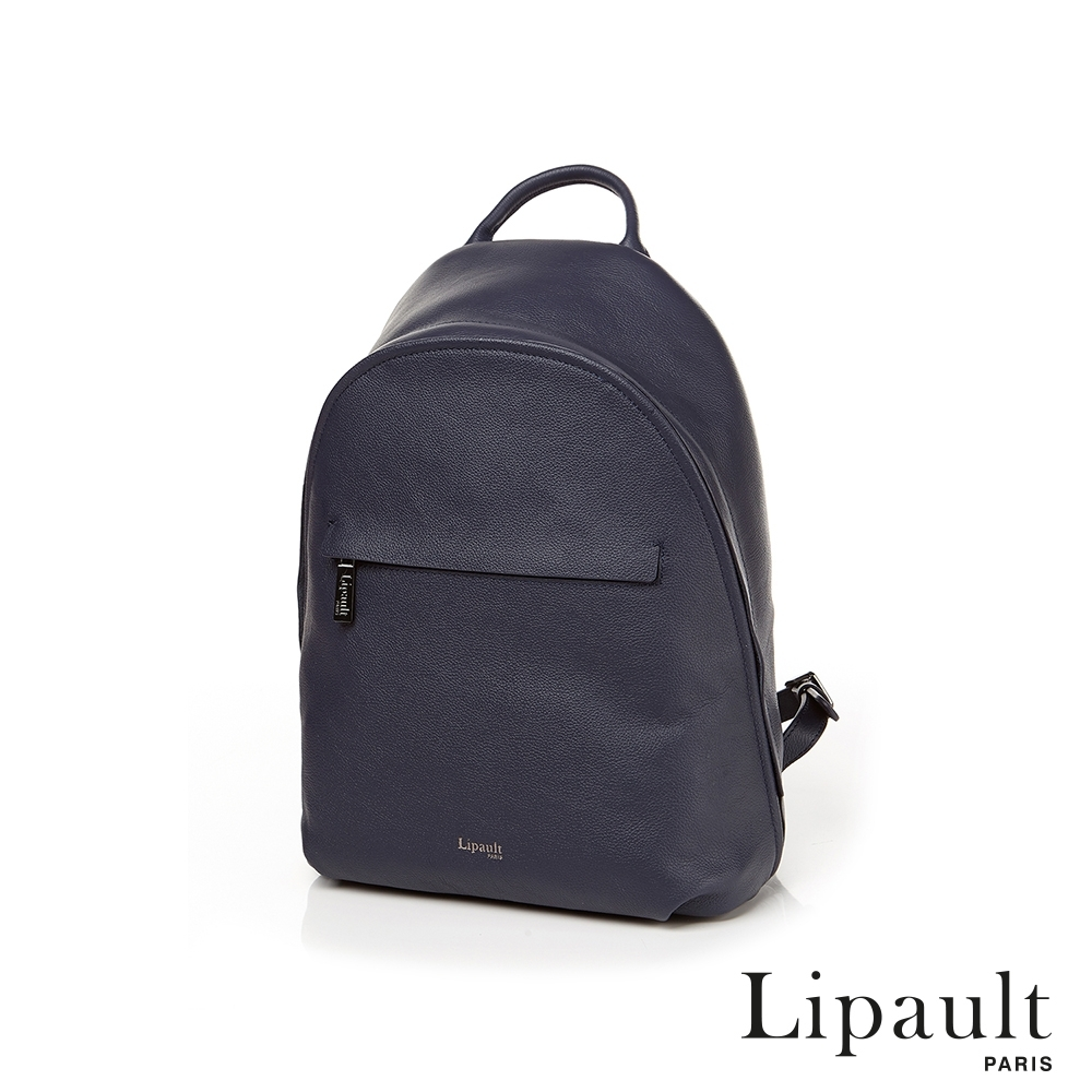 法國時尚Lipault 真皮後背包(三色可選)