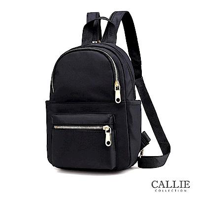 CALLIE  3 way輕巧尼龍後背包 Cona 黑