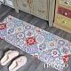 TROMSO 廚房防油皮革地墊-K318奢華紅花磚 product thumbnail 1
