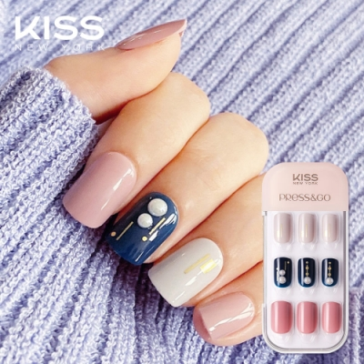 KISS New York-Press&Go頂級光療指甲貼片(你最珍貴 KPNA25KA)