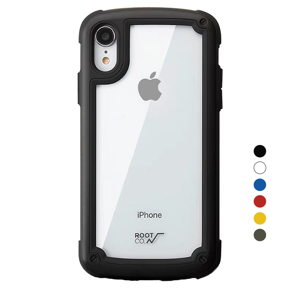 ROOT CO.-Tough & Basic iPhone XR 手機殼系列 product image 1