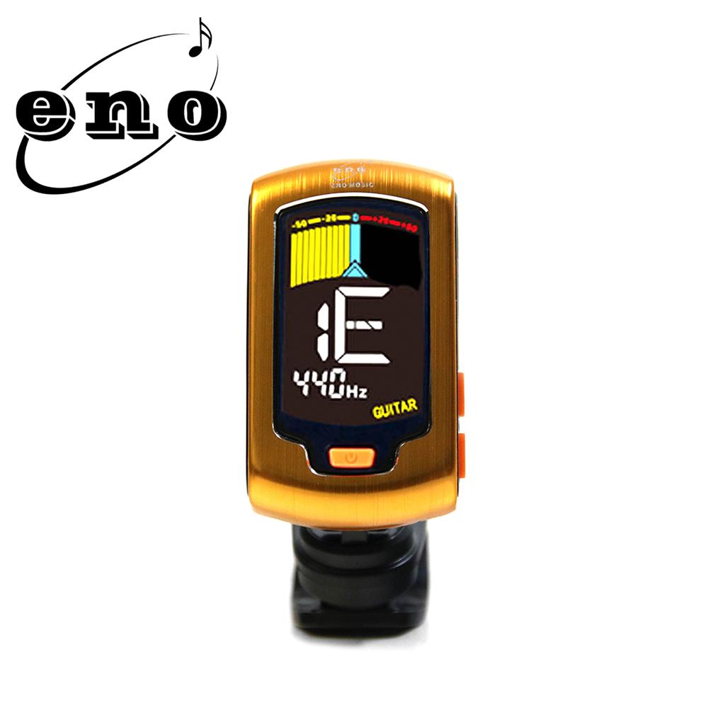 ENO ET32A YL 夾式調音器 黃金色 金屬面板限定款