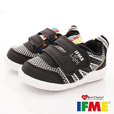 IFME健康機能鞋 超輕學步款 EI70211黑(寶寶段)