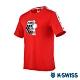 K-SWISS Tape T-Shirt SNOOPY聯名短袖T恤-男女-紅 product thumbnail 2