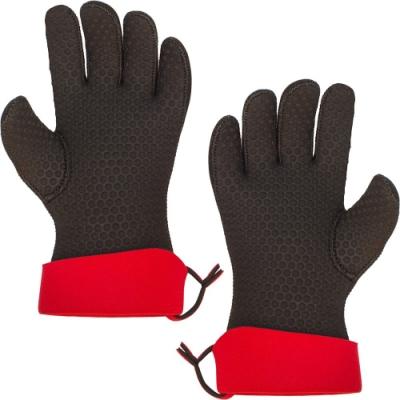 《CUISIPRO》五指止滑隔熱手套(黑L一對)