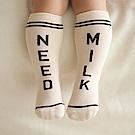 Happy Prince韓國製 Lettering趣味英文字嬰兒童及膝襪