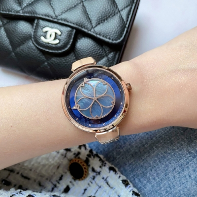 RELAX TIME 年度設計錶款 綻放系列 夜櫻 櫻花手錶(RT-72-2)