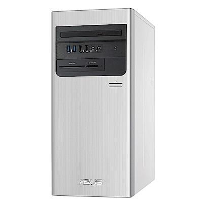 ASUS華碩 H-S700TA-510400004 T十代i5六核桌上型電腦(i5-10400/8G/1TB HDD/UMA/Win10h/銀)