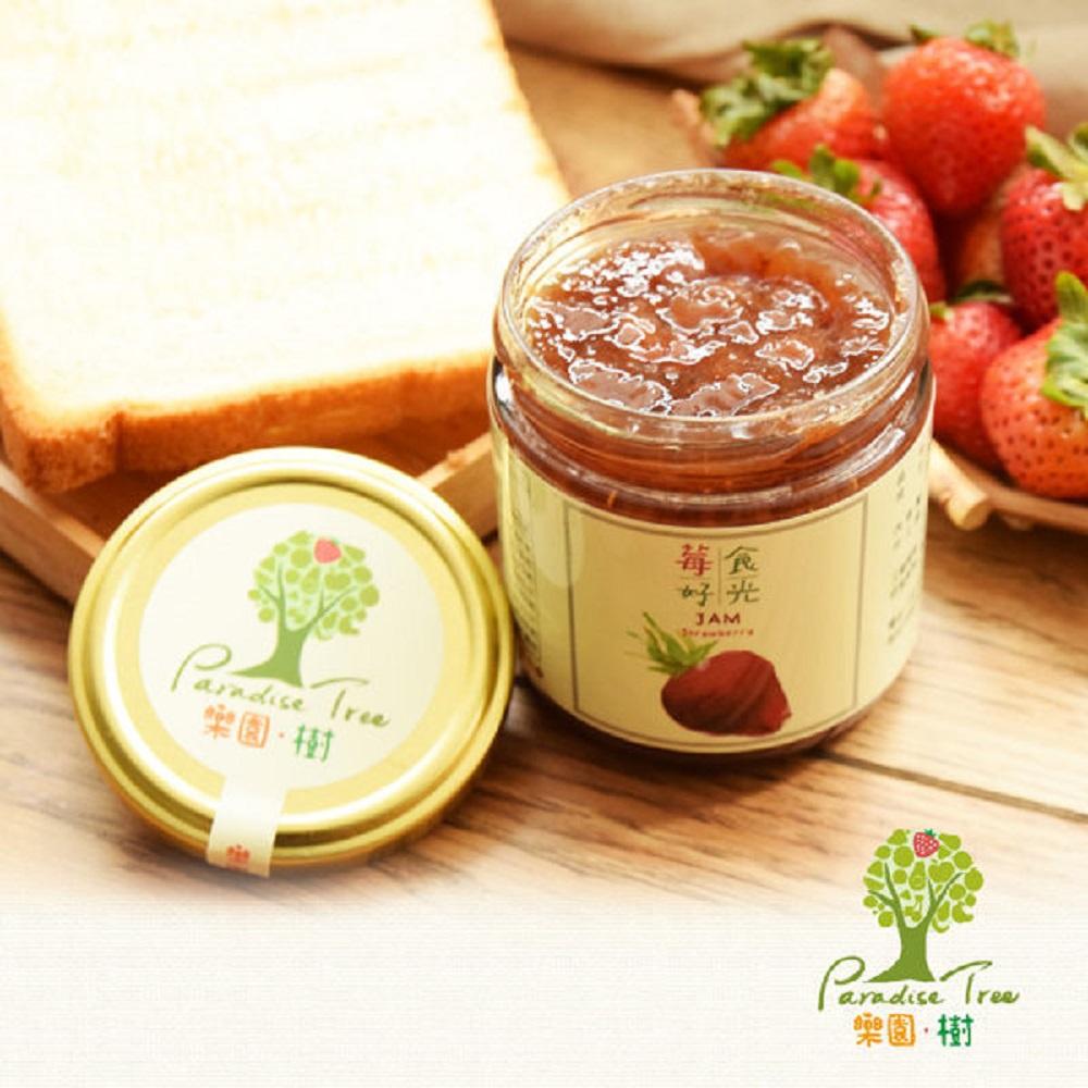 樂園樹 莓好食光-無農藥草莓純果醬(共兩瓶)