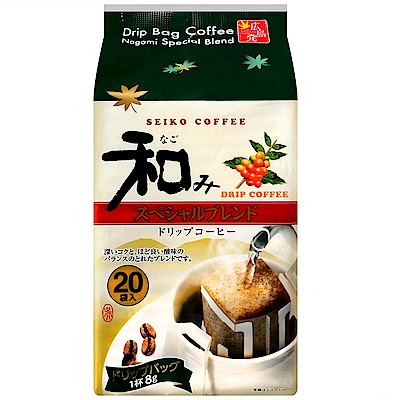 SEIKO COFFEE 和風濾式咖啡-特級(160g)