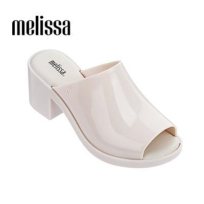 Melissa 經典款魚口涼鞋-白色