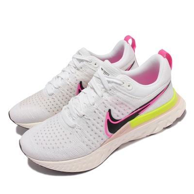Nike React Infinity Run FK 2 男鞋 慢跑鞋 針織鞋面 輕量透氣 避震包覆 運動 白粉 DJ5395-100