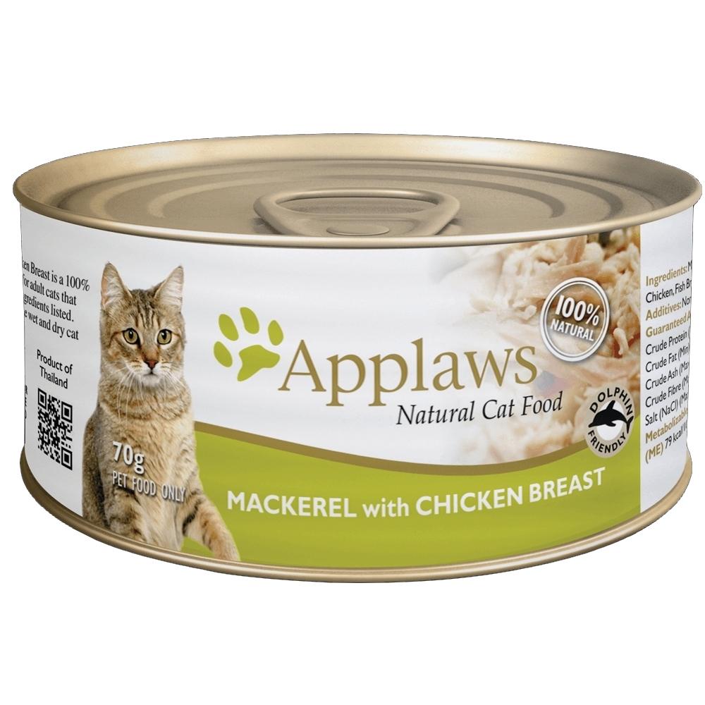 Applaws愛普士 全天然鮮食罐 70g 24罐組