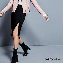 MOMA 單邊口袋開衩長裙