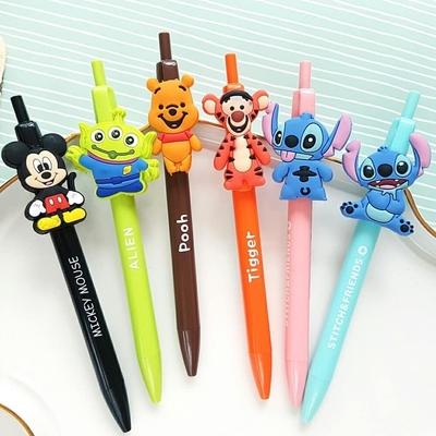迪士尼自動鉛筆 自動筆 DISNEY 米奇 三眼怪 史迪奇 星際寶貝 小熊維尼 跳跳虎