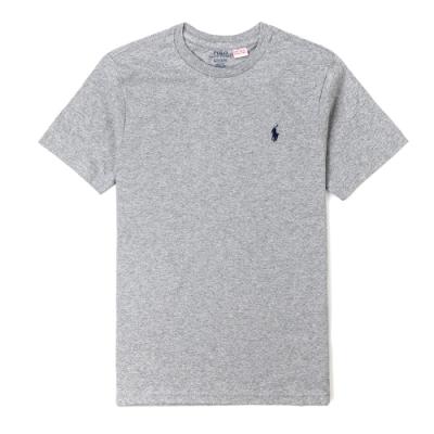 Polo Ralph Lauren 經典小馬圓領T恤(青年款)-灰色