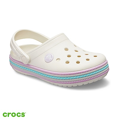 Crocs 卡駱馳 (童鞋) 卡駱班編織繩小克駱格 205899-159