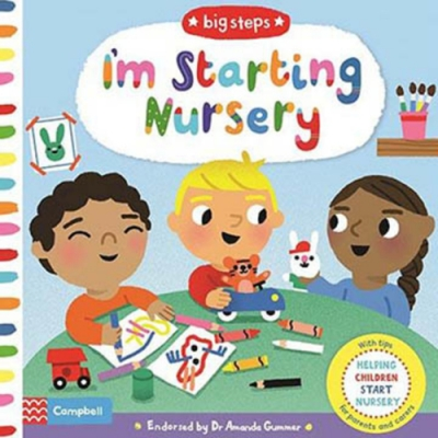 Big Steps:I m Starting Nursery 生活練習:開始上幼稚園操作書