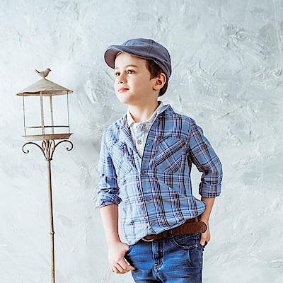 PIPPY 襯衫連帽上衣 藍