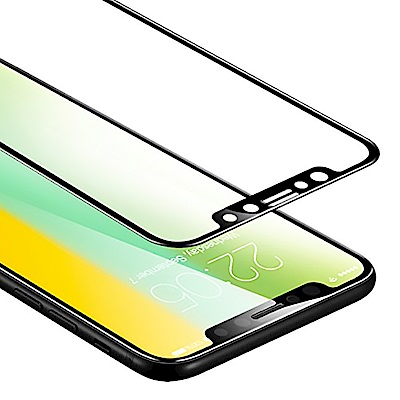 ESR iPhone X 全覆蓋鋼化玻璃膜10KG防爆(贈貼膜神器)