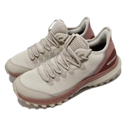Merrell 戶外鞋 Bravada Waterproof 女鞋 防水 抗磨損 防撕裂 包覆 避震 穩定 淺褐 紅 ML036020