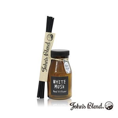 John's Blend 室內香氛擴香瓶-白麝香