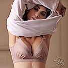 LADY 愛情天使系列 B-F罩 調整型無鋼圈胸罩(恬淡藕)