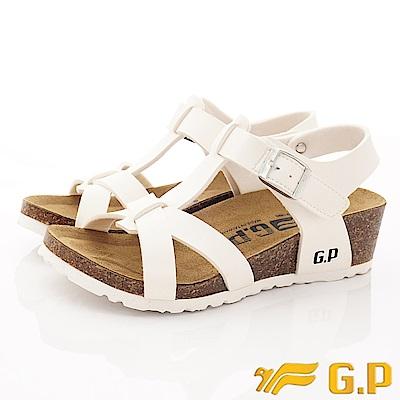 GP時尚涼拖  時尚涼鞋款-SE69-80白(女段)