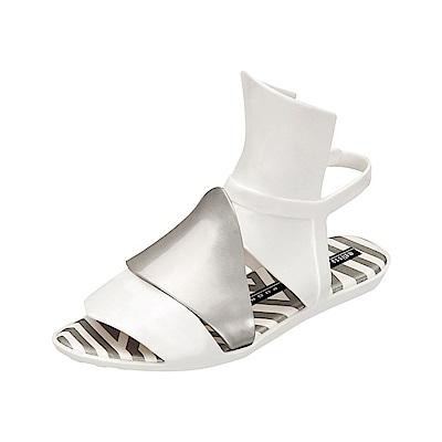 MELISSA 蓋瑞斯哥德風設計款 -白/銀
