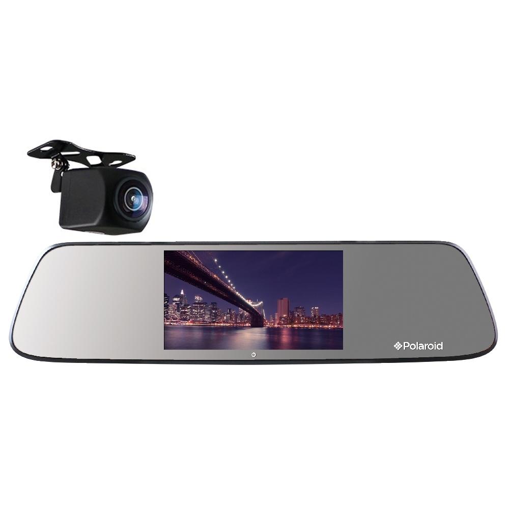 Polaroid 寶麗萊 DE501GS 星光夜視 前後雙錄 後視鏡行車記錄器