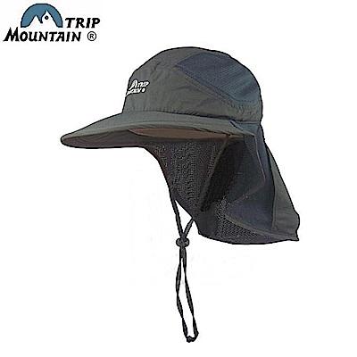 山行Mountain Trip透氣網眼速乾防曬簾帽MC-249