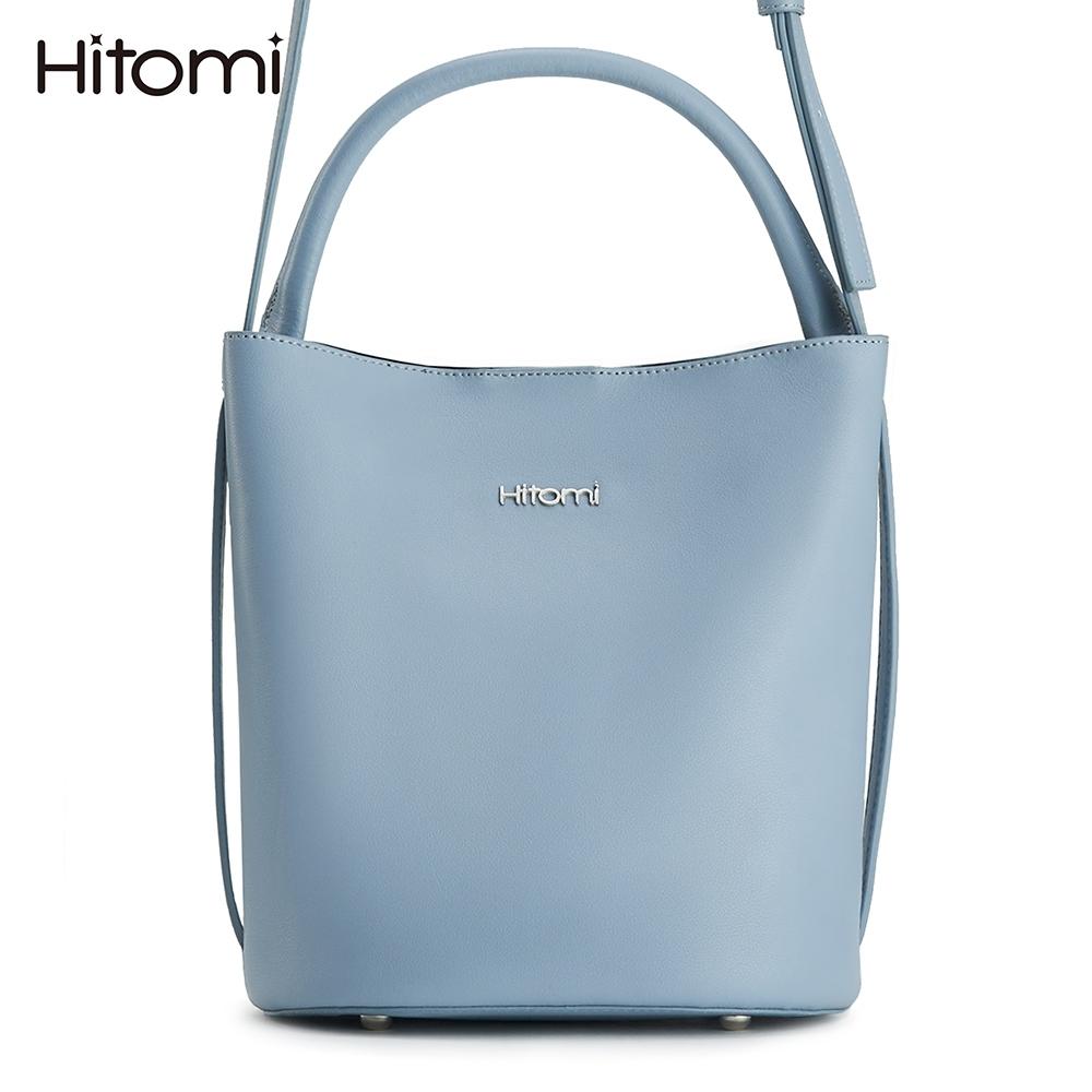 【Hitomi】蒲公英圓底水桶包(天空淺藍12197BU)