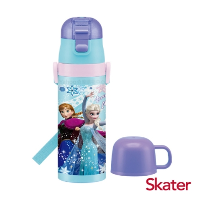 Skater 不鏽鋼2WAY水壺-冰雪奇緣PARTY