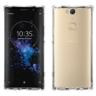Metal-Slim Sony Xperia XA2 Plus 防摔抗震空壓手機...