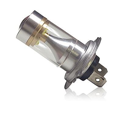 【車的LED】勁亮H7 6LED 魚眼燈30w 白光(兩入組)