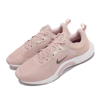 Nike 訓練鞋 Renew In Season TR 女鞋 寬楦 健身房 支撐 穩定 包覆 球鞋 粉 白 DN5116-600