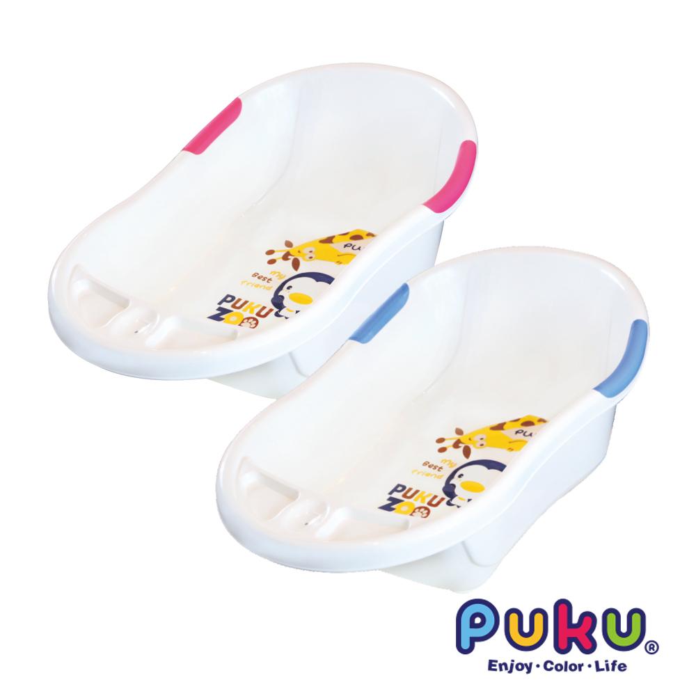 【PUKU】雙色浴盆-L