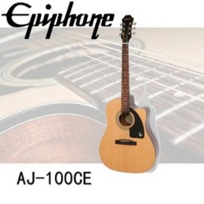 Epiphone AJ-100CE/電木吉他/公司貨保固/原木色